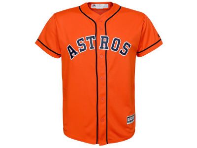 Houston Astros Majestic MLB Men's Blank Replica Cool Base Big & Tall Jersey