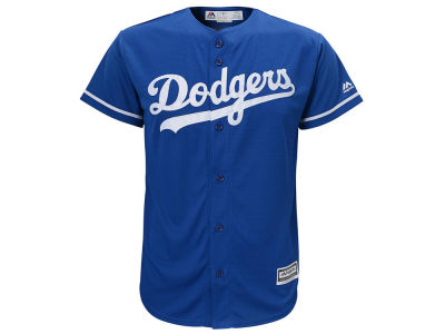 Los Angeles Dodgers Majestic MLB Men's Blank Replica Cool Base Big & Tall Jersey
