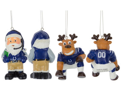 Indianapolis Colts Reindeer Games 2-Pack Ornaments