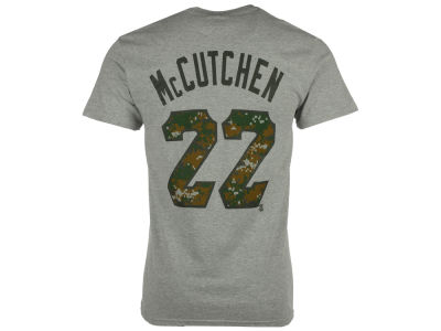 Pittsburgh Pirates Andrew McCutchen Majestic MLB Men's 2016 USMC Player T-Shirt
