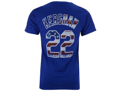 Los Angeles Dodgers Clayton Kershaw Majestic MLB Men's Proud Fan Player T-Shirt