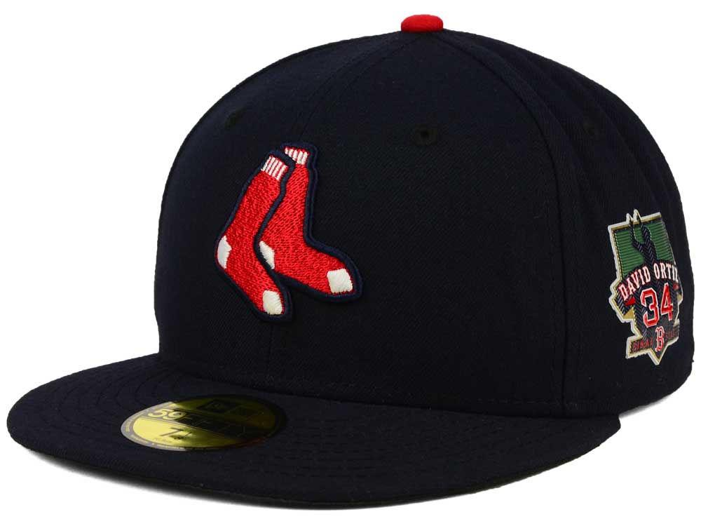 fdfadc1cb3f Boston Red Sox David Ortiz New Era MLB Ortiz On-Field AC Patch 59FIFTY Cap