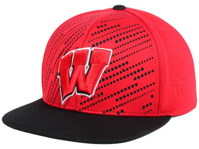 Wisconsin Badgers NCAA Sun Breaker Snapback Cap