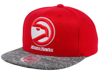 Atlanta Hawks NBA TC Gray Noise Snapback Cap