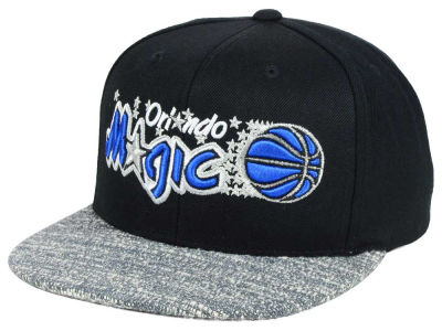 Orlando Magic NBA TC Gray Noise Snapback Cap