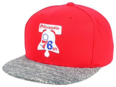Philadelphia 76ers NBA TC Gray Noise Snapback Cap
