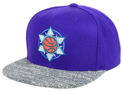 Utah Jazz NBA TC Gray Noise Snapback Cap