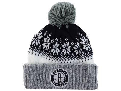 Brooklyn Nets NBA Mitchell and Ness Snowflake Knit