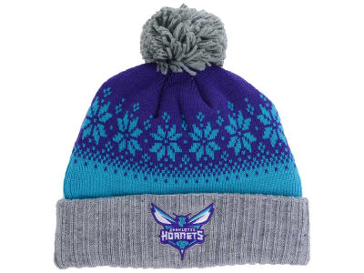 sale retailer 9131f 91e40 ... coupon for charlotte hornets mitchell ness nba mitchell and ness  snowflake knit 8edaa 63273