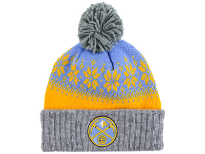 Denver Nuggets NBA Mitchell and Ness Snowflake Knit