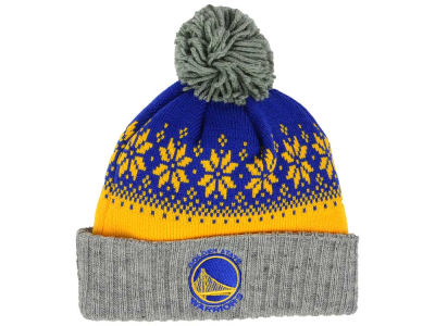 Golden State Warriors NBA Mitchell and Ness Snowflake Knit