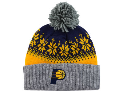 Indiana Pacers NBA Mitchell and Ness Snowflake Knit