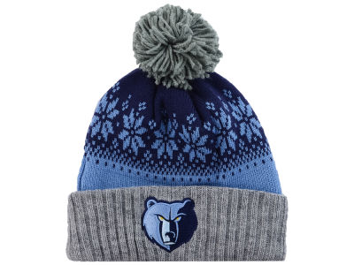 Memphis Grizzlies NBA Mitchell and Ness Snowflake Knit