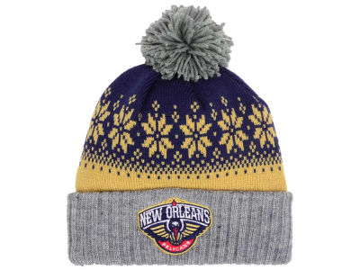 New Orleans Pelicans NBA Mitchell and Ness Snowflake Knit