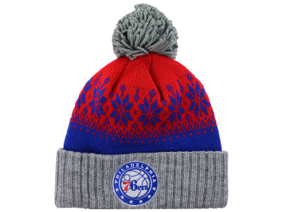 Philadelphia 76ers NBA Mitchell and Ness Snowflake Knit