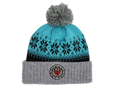 Vancouver Grizzlies Mitchell & Ness NBA Mitchell and Ness Snowflake Knit
