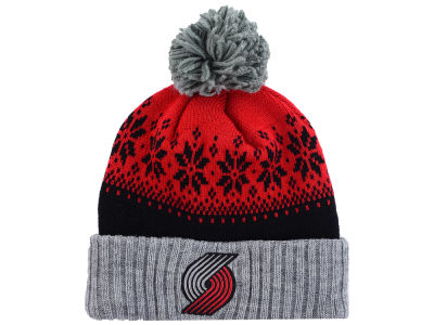 Portland Trail Blazers NBA Mitchell and Ness Snowflake Knit