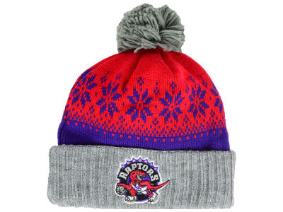 Toronto Raptors NBA Mitchell and Ness Snowflake Knit