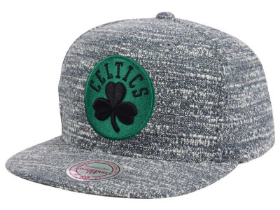 Boston Celtics NBA Gray Noise Snapback Cap