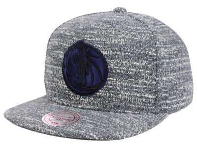 Dallas Mavericks NBA Gray Noise Snapback Cap