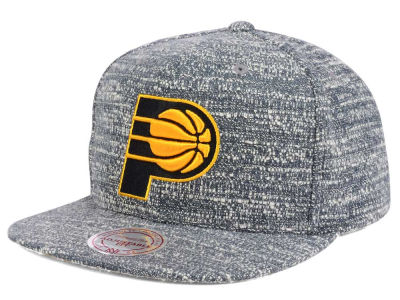 Indiana Pacers NBA Gray Noise Snapback Cap