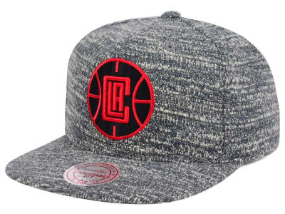 Los Angeles Clippers NBA Gray Noise Snapback Cap