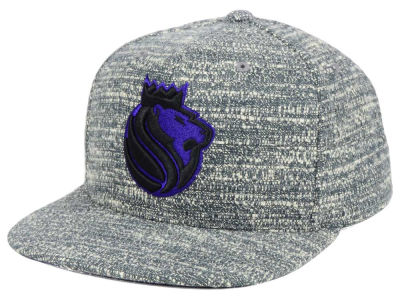 Sacramento Kings NBA Gray Noise Snapback Cap