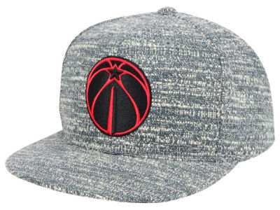 Washington Wizards NBA Gray Noise Snapback Cap