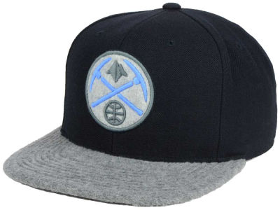 Denver Nuggets Mitchell and Ness NBA Fuzz 2Tone Fitted Cap