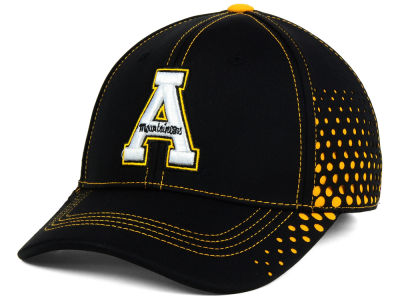 Appalachian State Mountaineers Top of the World NCAA Fade Stretch Cap