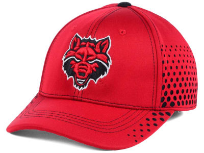 Arkansas State Red Wolves Top of the World NCAA Fade Stretch Cap