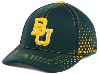Baylor Bears Top of the World NCAA Fade Stretch Cap