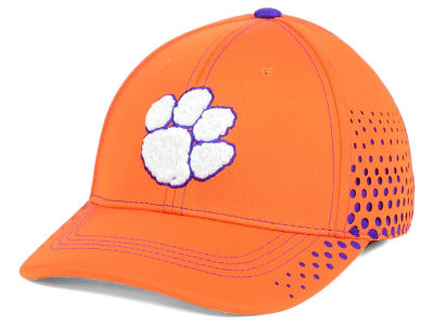 Clemson Tigers NCAA Fade Stretch Cap
