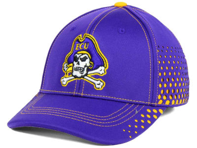 East Carolina Pirates Top of the World NCAA Fade Stretch Cap