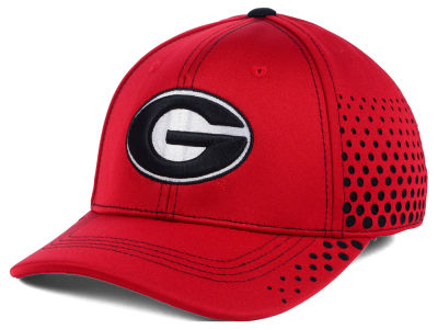 Georgia Bulldogs Top of the World NCAA Fade Stretch Cap