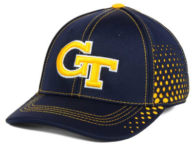 Georgia-Tech NCAA Fade Stretch Cap