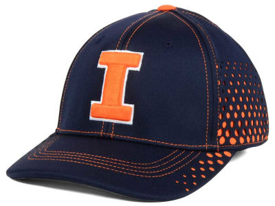 Illinois Fighting Illini Top of the World NCAA Fade Stretch Cap