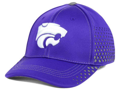Kansas State Wildcats Top of the World NCAA Fade Stretch Cap