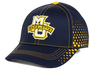Marquette Golden Eagles Top of the World NCAA Fade Stretch Cap