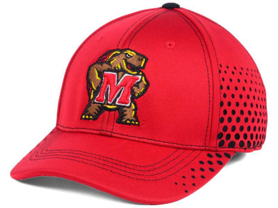 Maryland Terrapins Top of the World NCAA Fade Stretch Cap