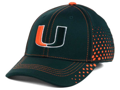 Miami Hurricanes NCAA Fade Stretch Cap