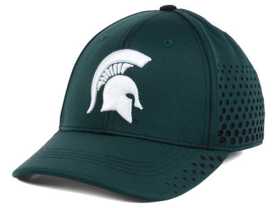 Michigan State Spartans Top of the World NCAA Fade Stretch Cap
