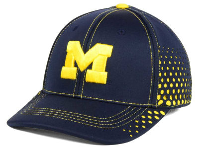 Michigan Wolverines NCAA Fade Stretch Cap