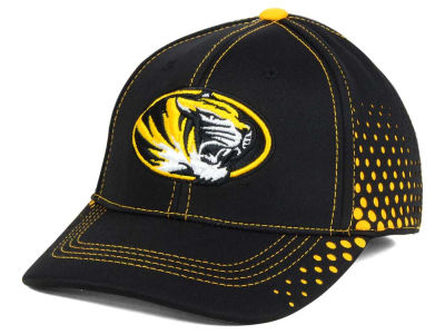 Missouri Tigers NCAA Fade Stretch Cap