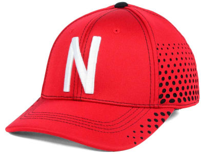 Nebraska Cornhuskers Top of the World NCAA Fade Stretch Cap