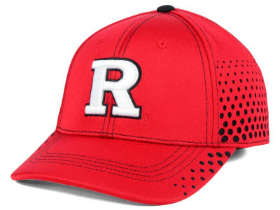 Rutgers Scarlet Knights Top of the World NCAA Fade Stretch Cap