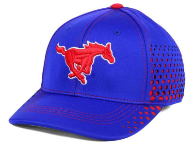 Southern Methodist Mustangs Top of the World NCAA Fade Stretch Cap