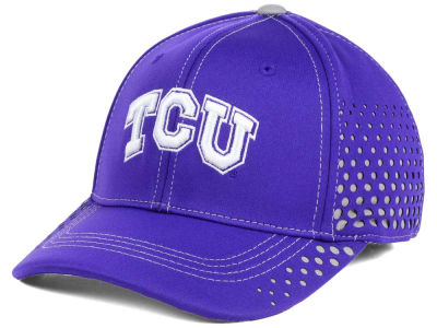 Texas Christian Horned Frogs Top of the World NCAA Fade Stretch Cap