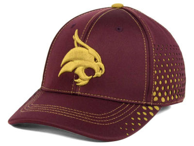 Texas State Bobcats Top of the World NCAA Fade Stretch Cap