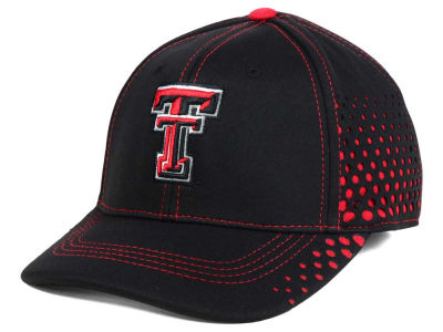 Texas Tech Red Raiders Top of the World NCAA Fade Stretch Cap